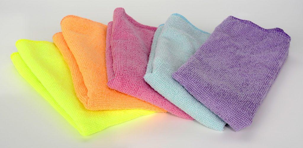 Microfiber schoonmaakdoek